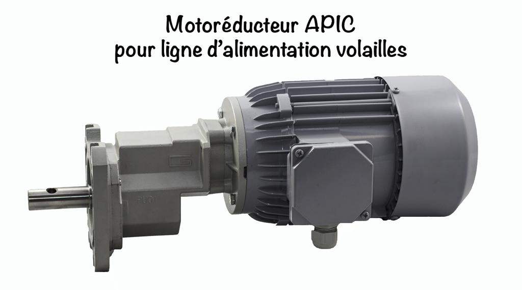 MOTOREDUCTEUR APIC