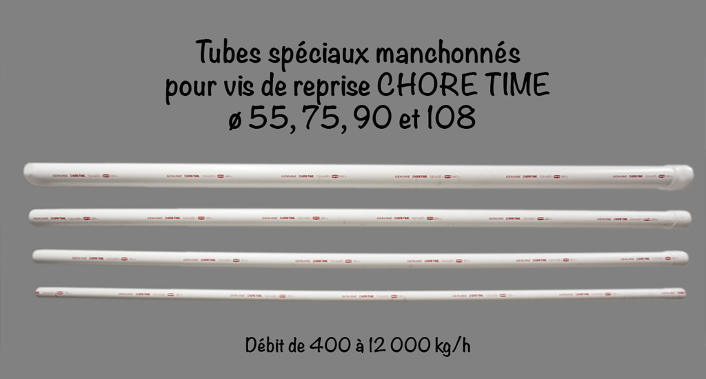 TUBES SPECIAUX CHORE TIME