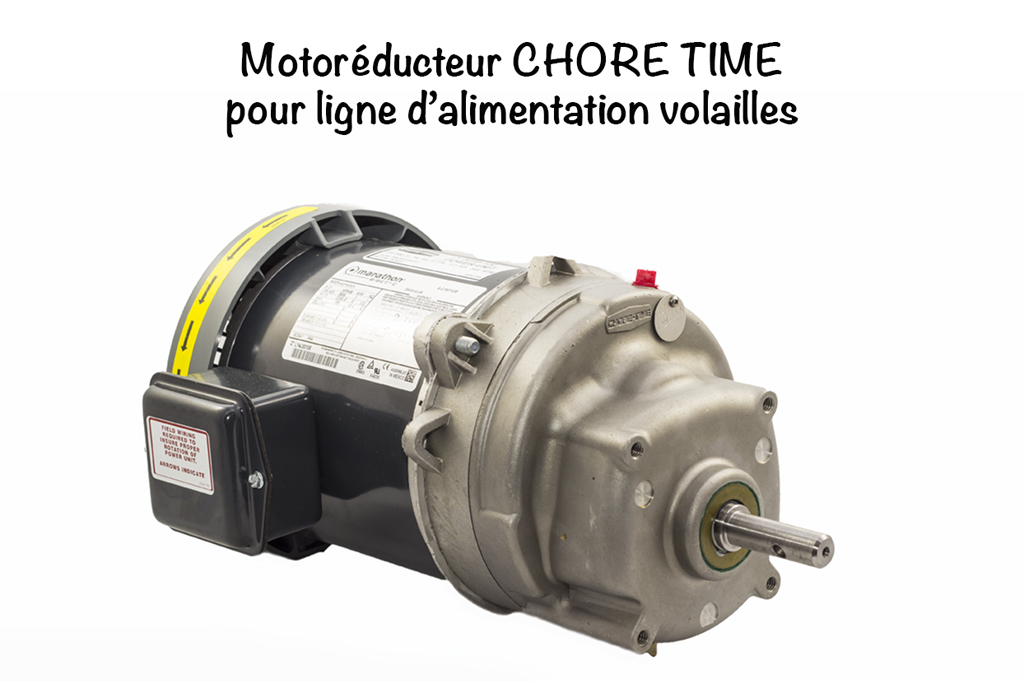MOTOREDUCTEUR CHORE TIME